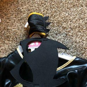 Bat girl Costume toddler girls size small 5t